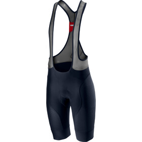 Castelli Free Aero Race 4 Bib Shorts Heren, blauw